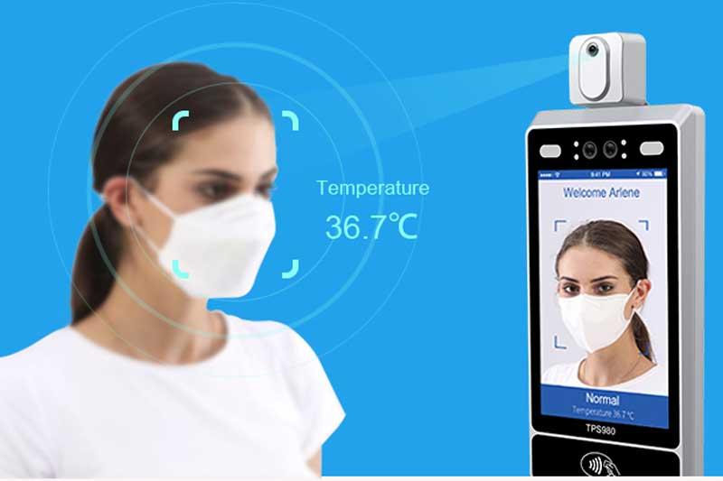 controllo temperatura umana